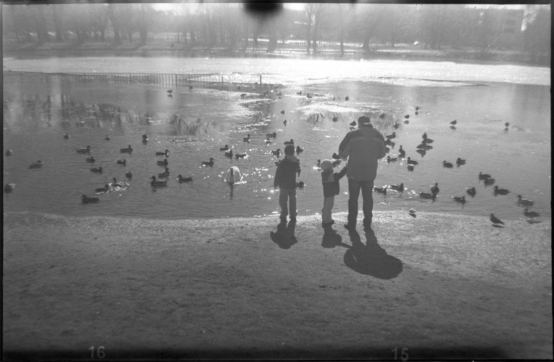 efke r100 127 type film taken with Kodak Brownie 127 camera